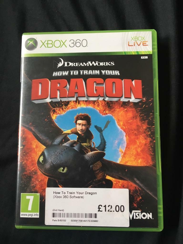 Xbox 360 how to train your dragon in creswell nottinghamshire xbox 360 how to train your dragon ccuart Choice Image