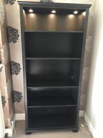 Ikea bookshelf dark brown