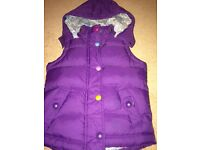Joules gilet/body warmer, age 4