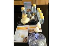 Medela Swing Breast Pump and Equipment