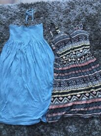 2 Ladies/Teens Summer Dresses. Size 10. £4. Torquay or can post