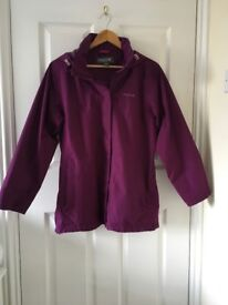 Laidies Regatta Waterproof Hooded Jacket