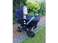 Bugaboo Cameleon 3 Limited Edition Classic+ Pushchair, Navy, full sey
