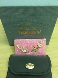 Vivienne Westwood Candy Earrings Gold