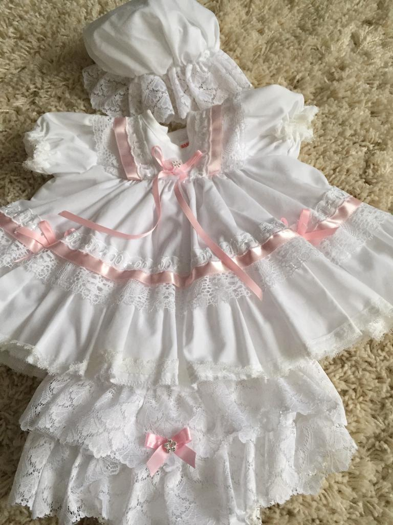 0590595d8acc Baby girls frilly dress