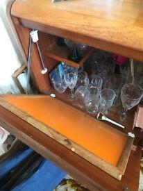 Teak Sideboard/ Drinks Cabinet