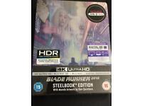 Blade Runner 2049 4K/3D/digital HMV Exclusive Steelbook New Sealed