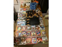 SONY PLAYSTATION 3 SLIM 250GB WITH 31 GAMES AND BLU-RAY COMPATIBLE!