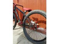 Orange hitman custom jump bike