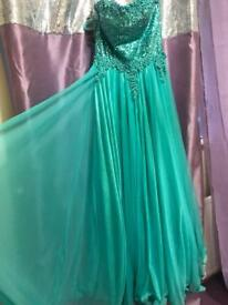 Long dress size 10-12