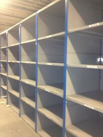 ALL INDUSTRIAL SHELVING WANTED!! CASH PAID! (PALLET RACKING , STORAGE )