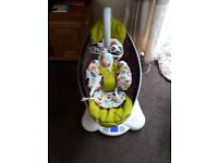 4moms mamaroo with newborn insert and toy bar very good condition collection from hartlepool