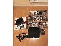 Playstation 3 Slim 120GB & Various Games