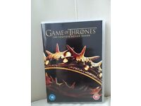 Game of thrones dvd series 2. New.