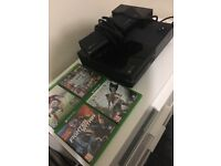 Xbox one with Kinect 4 games like new