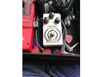 Mxr Wylde overdrive guitar pedal