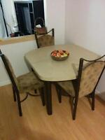 Great dinning table and chairs!!!!
