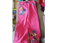 Minnie mouse trousers size 4-5 New