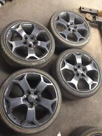 Vauxhall vxr alloy wheels and tyres 19s