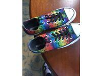 Genuine Converse. Rainbow colours. UK 5
