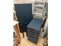 Ikea Linnmon desk / All blue