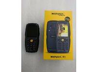 SONICA R1 BUILDERS PHONE BRAND NEW WITH RECEIPT