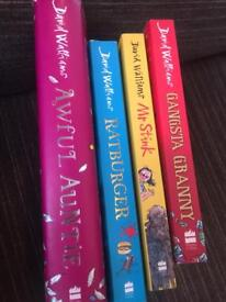 David walliams Children's books