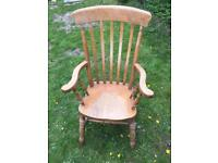 Farmhouse style carver chair