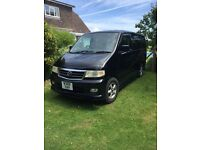 Fantastic Mazda Bongo professionally converted 2 berth camper, gas hob, sink REDUCED FOR QUICK SALE