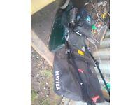 Hayter harrier 48 petrol lawnmower self-propelled