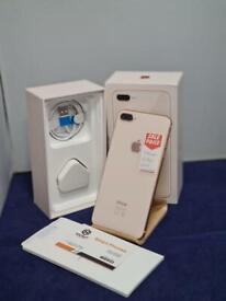 IPHONE 8 Plus 64gb Unlocked Immaculate Condition Rose Gold