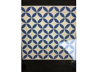 Brand New and unopened KENSINGTON -Ceramic Victorian Tile Effect Cushioned Flooring