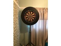 Dart board ,surround and stand