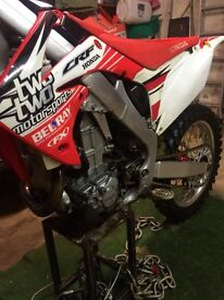 Honda CRF450 2011 EFI Motocross MX Bike