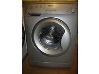 Bush Washing Machine in Silver - 6 kg - 1200 spin