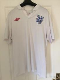 ENGLAND FOOTBALL TOP XL
