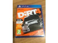 dirt 4 ,ps4 , as new ! price stands , no offers !