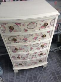 SHABBY CHIC FRENCH STYLE DRAWERS