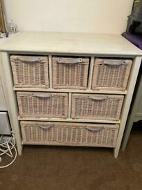 chest with basket drawers