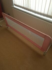 Childrens Bed rails.