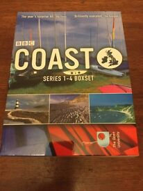 BBC Coast TV series 1-4 boxset