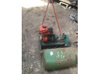 Suffolk PunchSelf Propelled Lawn Mower With Box