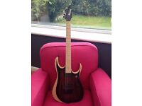 Ibanez RGDIX6MRW-CBF in Charcoal Brown For Sale or Trades
