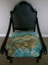 Atlas fabric covered chair