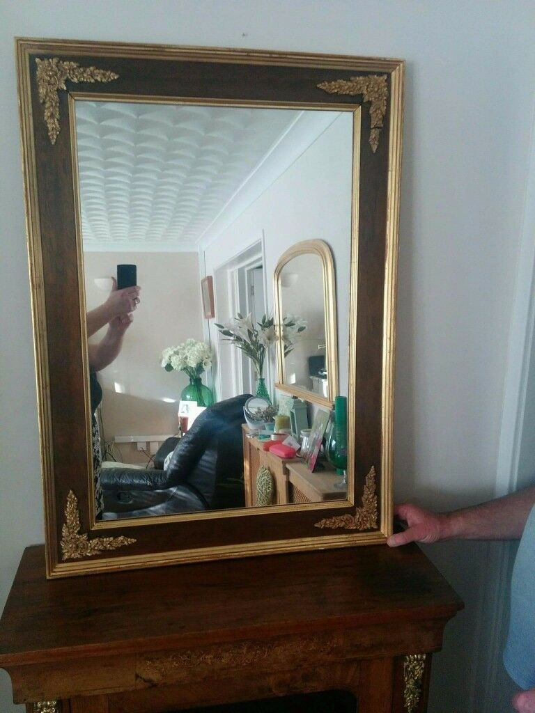 Vintage Antique Mirror by Arthuro