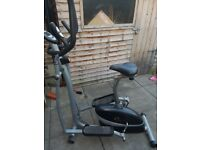 2 in 1 Cycle & Cross Trainer / Rowing Machine
