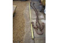 MACHINERY LIFTING CHAINS BROTHERS IDEAL EXPORT.