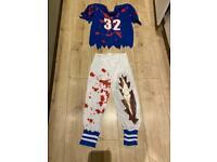 Zombie American footballer age 11-12