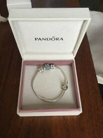 Pandora Bracelet with 6 charms