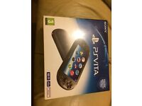 PS4 vita. 16gb memory card, one game imaculate condition